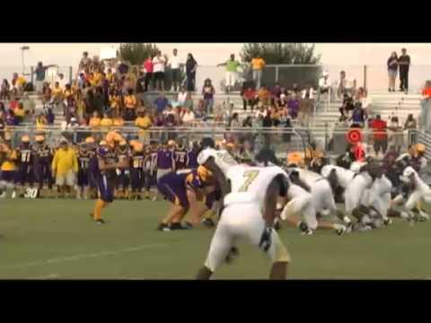 High School Football Fort Pierce Central 26 Treasure Coast 7 Youtube