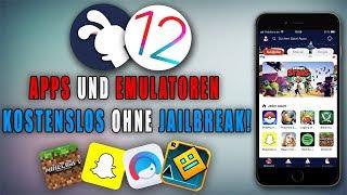APPS und EMULATOREN kostenslos installieren auf iOS 12.3 mit TutuApp! [DEUTSCH]
