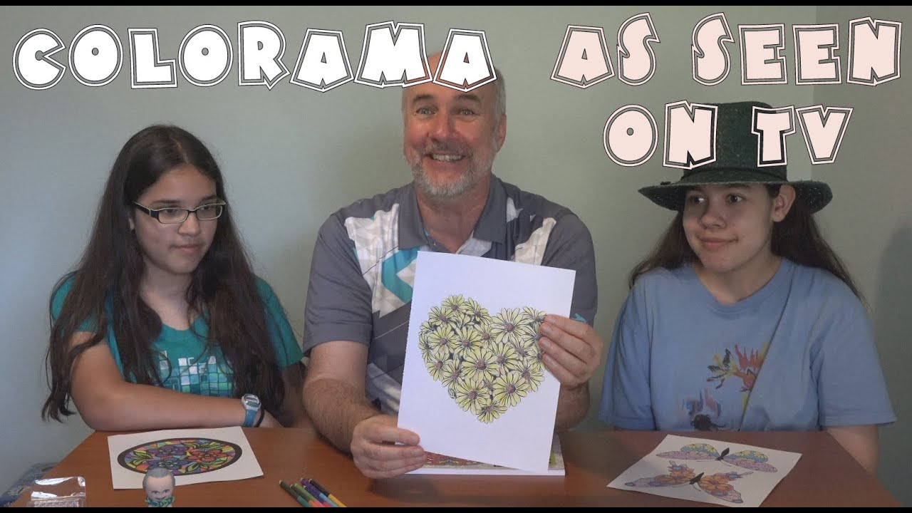 Colorama Review As Seen On TV Coloring Book