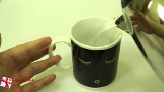 кружка-хамелеон «Доброе утро»  обзор от магазина подарков «Счастливый случай»