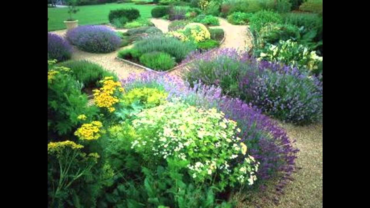Best English garden landscape - YouTube