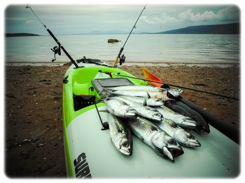 The Gantock . Kayak Fishing The Clyde Estuary .