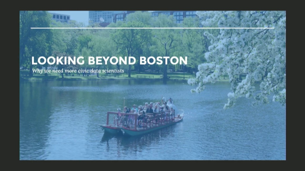 Future of Data Science in the City of Boston | Andrew Therriault ...