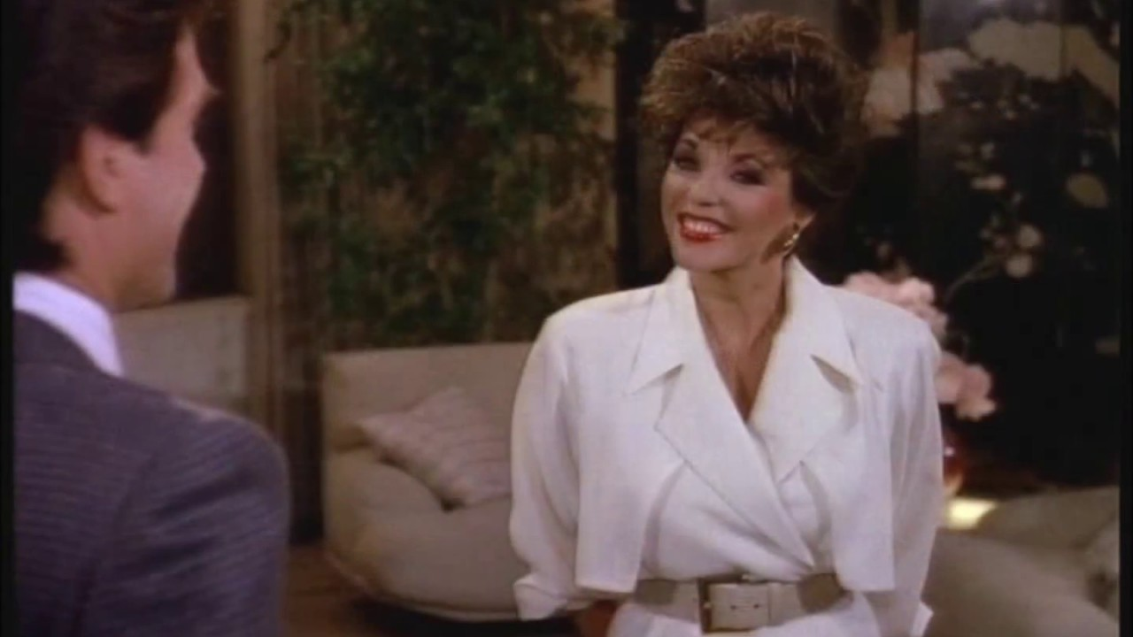 Fashion fancy dress costumes fancy dress - Joan Collins What Did She Wear On Dynasty Season 8 Youtube