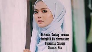 Muna Shahirah - Teguh Setia (Official Minus One/Karaoke & Lyrics)