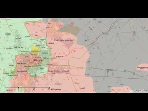 Aleppo Timelapse - April 2014 - August 2016