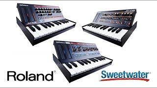Roland Boutique Synths Review by Sweetwater