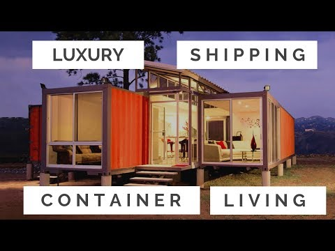 Luxury Shipping Container Living in Toronto GTA