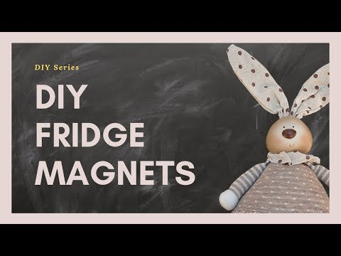 DIY Fridge Magnets - Acrylic Pouring/ Polycrylic & Resin Sealing Comparison [中文字幕]