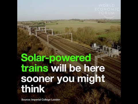 Solar powered trains are closer to reality than you might think