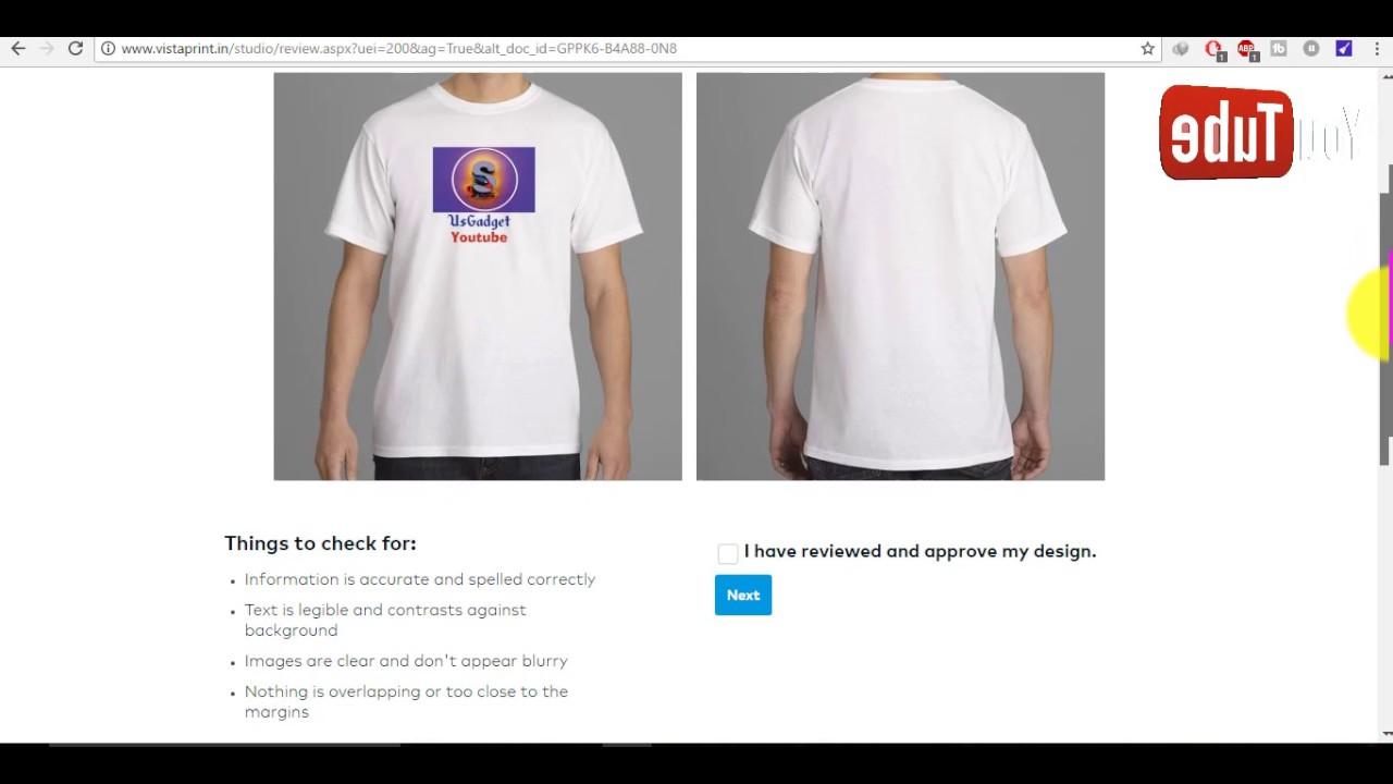 Vistaprint T Shirt Promo Code Bcd Tofu House