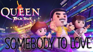 Queen Rock Tour - Somebody To Love - Soy Tori