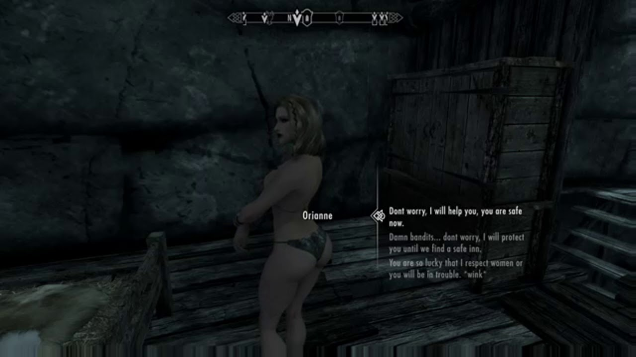 Skyrim SE (mods) - Crom - Enslaved Wenches - ValtheimTowers