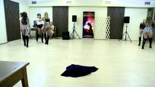Премия DANZA TV 22.02.15г., Sexy Strip команда PROF, Студия танца SunEmotion.