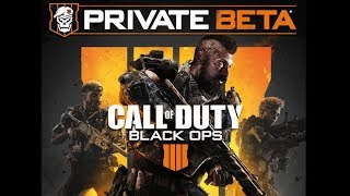 Call of Duty Black Ops 4 Blackout Battle Royale (Private Beta)   Live Stream #1