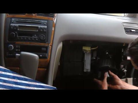 Максима А33 замена фильтра салона чистка радиатора и вентилятора печки