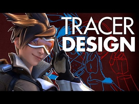 Tracer and Overwatch Character Design EXPLAINED - The ART!