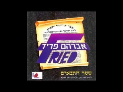 אברהם פריד - שטר התנאים - avraham fried - shtar hatnaim