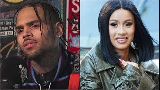 Chris Brown PLANS To HOP In Cardi B's DM's After Her BreakUp W/ Offset