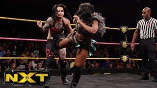 Ember Moon vs. Ruby Riot vs. Sonya Deville - NXT Women's Title Qualifier: WWE NXT, Oct. 18, 2017
