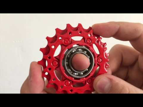 FIDGET SPINNER DIY WITH MTB COMPONENTS