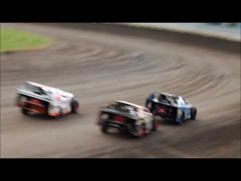 Lee County Speedway 10 15 16 Jace Gay Heat Race