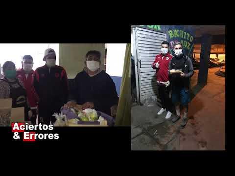Comedor infantil bichito de luz en Cuarentena