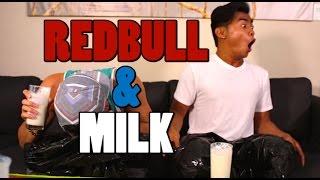 Redbull and Milk Challenge