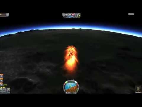 Kerbal space program carrière FR : Episode 07, Aller retour sur la Mun !