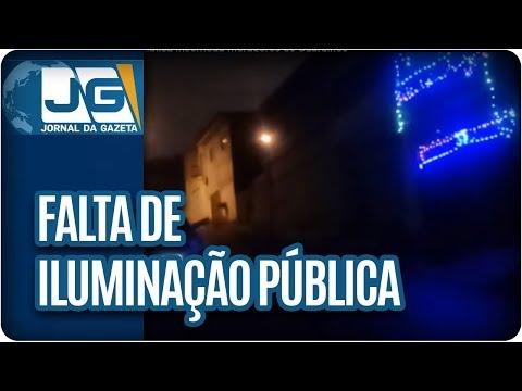 Falta de iluminação pública incomoda moradores de Guarulhos