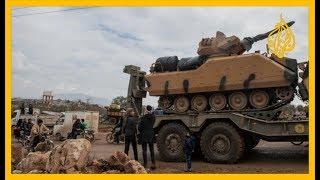تركيا تسقط مقاتلتين للنظام السوري وتطلق عملية درع الربيع في #إدلب.. التفاصيل مع شبكة مراسلينا
