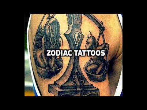 Zodiac Tattoos - Zodiac tattoo design ideas