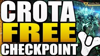 Destiny - CROTA CHECKPOINT FREE RAID GEAR ! (Destiny Dark Below)