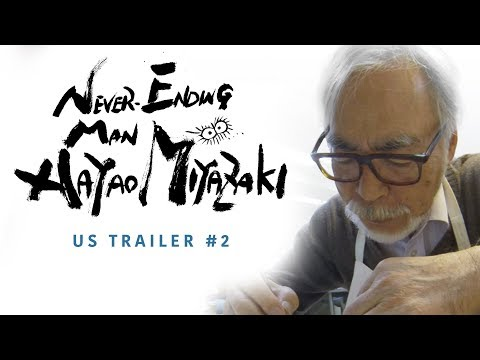 Never-Ending Man: Hayao Miyazaki [Official US Trailer #2, GKIDS – Coming Winter 2018]