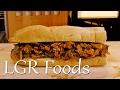 LGRwich №4 - BBQ Pulled Chicken & Garam Masala Onion