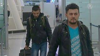 Разочарованные беженцы возвращаются из Германии в Ирак (новости)(http://ntdtv.ru/ Разочарованные беженцы возвращаются из Германии в Ирак. Аэропорт города Эрбиль, столицы Ираксого..., 2016-01-28T08:12:55.000Z)