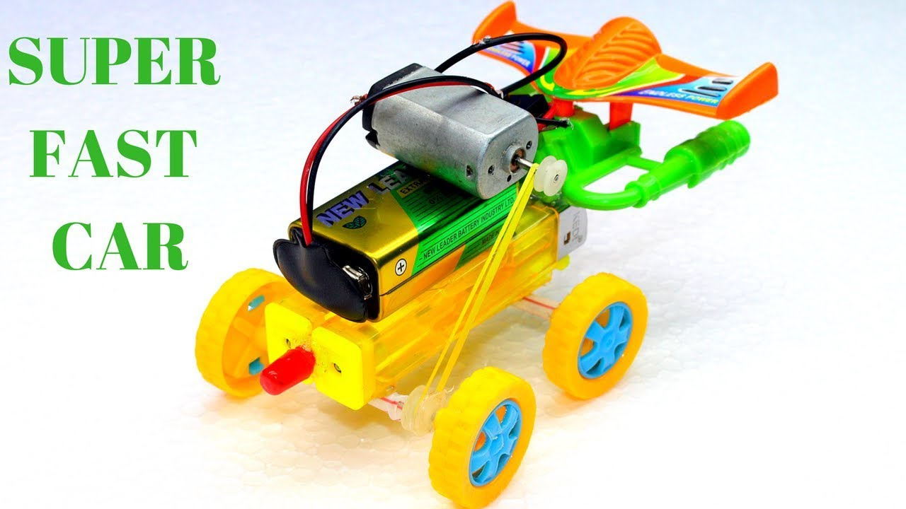 How To Make A Mini Electric Toy Car At Home Mini Electric Simple