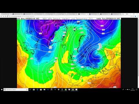 Becoming Colder But How Cold? (19/02/18)
