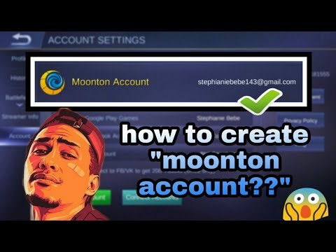 How To Create Moonton Account On Mobile Legends