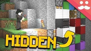 3 HIDDEN Security Systems in Minecraft!