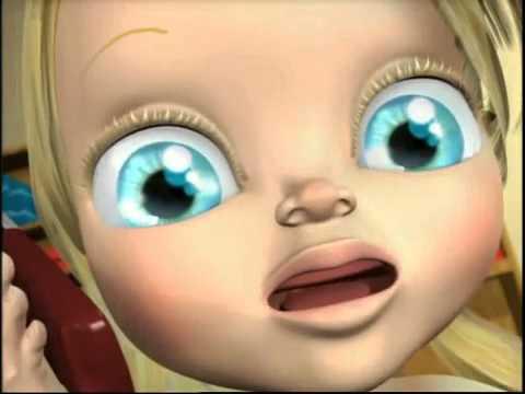 Bébé Lilly   Allo Papy: chanson pour bébé