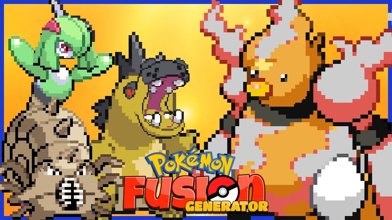 Pokemon fusion all gens generator
