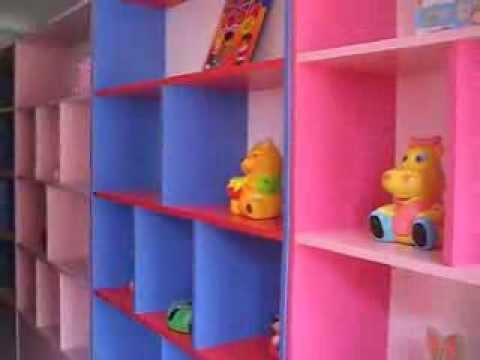 Estantes de melamina youtube - Estantes para guardar juguetes ...