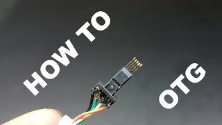 Convert Any Data Cable Into High speed Otg Cable - How to Make Otg Cable