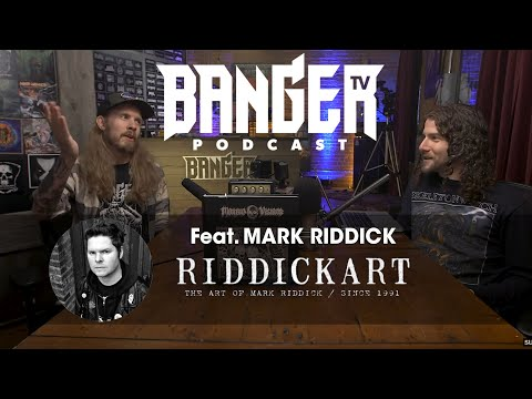 BTV Podcast Feat. Mark Riddick (Illustrator   Graphic Artist)