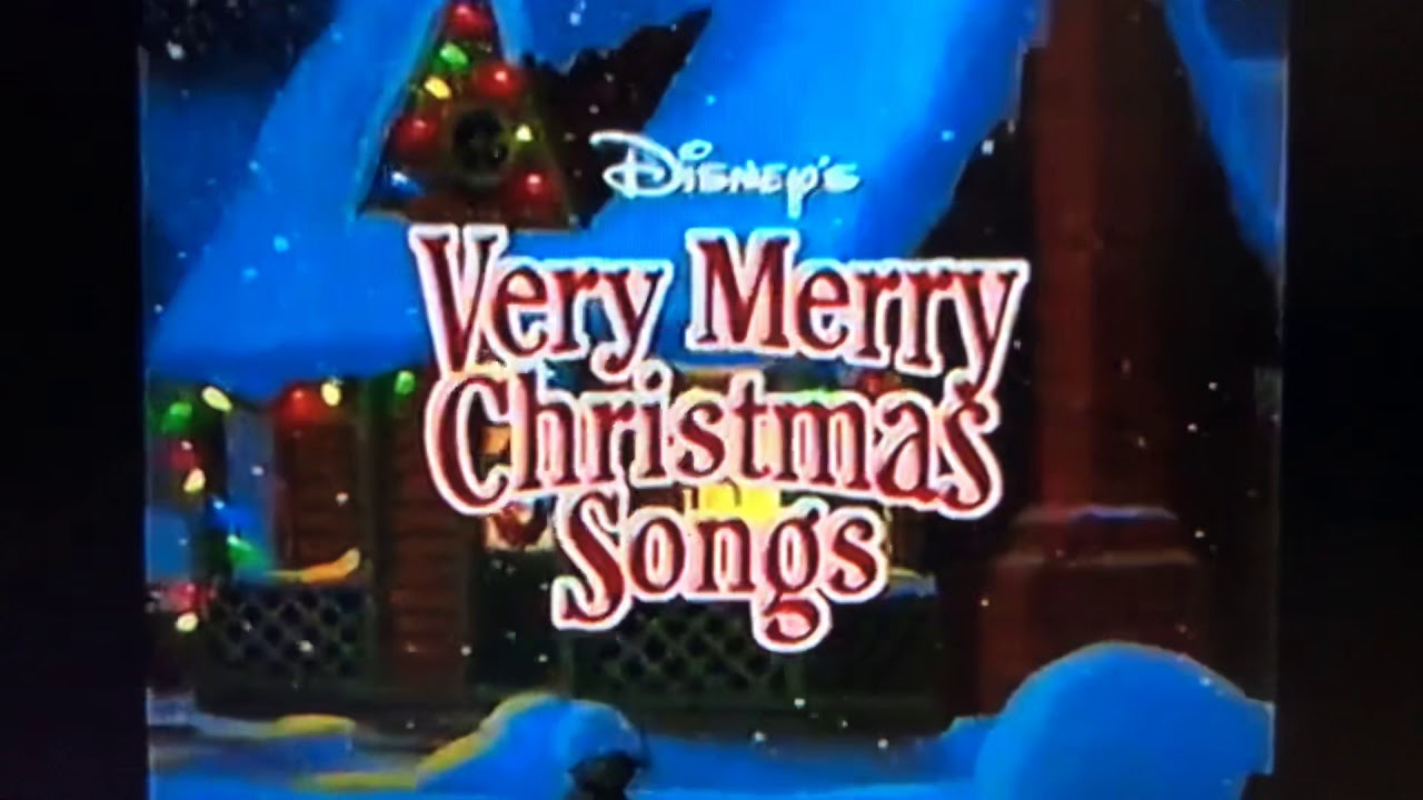Disney Sing Along Songs Very Merry Christmas Songs 2002.Disney Very Merry Christmas Songs Trailer 2002 Youtube