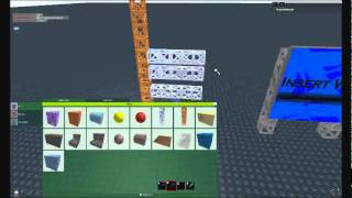 ROBLOX - How to make a truss ladder! (HAPPY NEW YEAR 2012!)