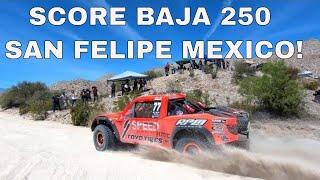 SCORE 2019 San Felipe 250 Baja Racing Y Accidente Carrera Motos Y Trophy