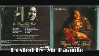Shubha Mudgal- Naacho sari sari Raat