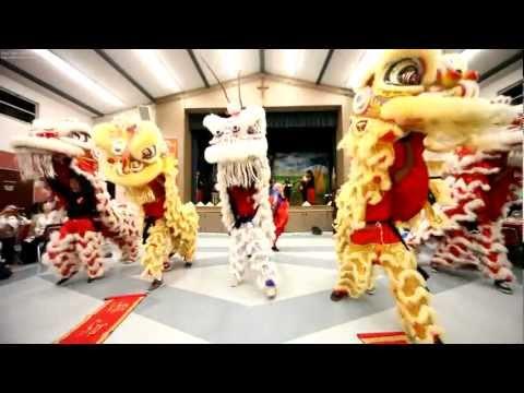 TNTT | Doan Gioan Tien Ho HB Mua Lan Lion Dance | Tet 2013